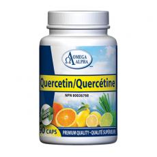 오메가알파 케르세틴 Quercetin 500mg 90베지캡슐 퀘르세틴