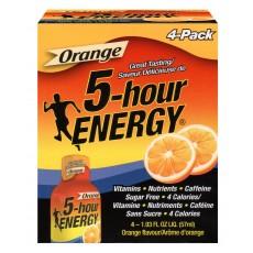 파이브 아워 에너지 오렌지맛 4팩 5-hour ENERGY Orange 57ml