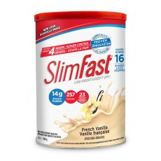 슬림패스트 다이어트 바닐라맛 Slim Fast French Vanilla Meal Replacement Shake Mix 530 g