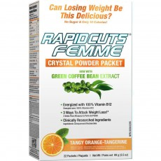 래피드컷츠 팸 크리스탈 파우더 Rapidcuts Femme Rapid Fat burning 22 packets, 99g