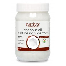 누티바 유기농 코코넛오일 Nutiva Organic Coconut Oil 444ml