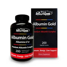 캐나다 알부민 BeeHappy Albumin Gold 1500mg, 200capsules