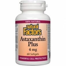 내추럴팩트 아스타잔틴 Natural Factors Astaxanthin plus 4mg 60정