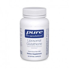 리포소말 글루타치온 Pure Encapsulations Liposomal Glutathione 60정