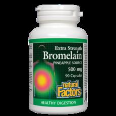 네추럴팩터스 브로멜라인 Natural Factors Bromelain  500mg 90캡슐