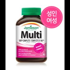 자미에슨 멀티비타민 컴플리트 여성용 Multi Complete 90정