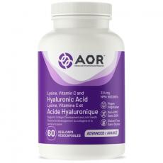 에이오알 라이신 비타민C  히알루론산 AOR Hyaluronic Acid 60캡슐