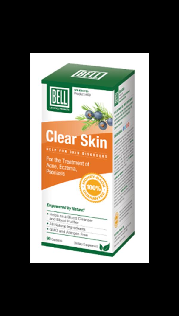 클리어 스킨 여드름 습진 건선 피부치료 Bell Lifestyle Clear Skin 90정