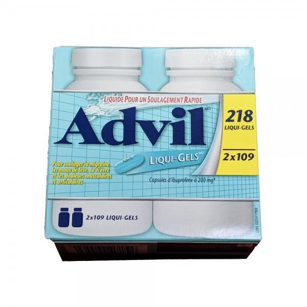 애드빌(Advil) 리퀴겔 연질캡슐 이부프로펜 (Solubilized Ibuprofen) 200 mg 240캡슐