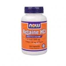 나우 베타인 HCL (Betaine HCl) 648mg 120정