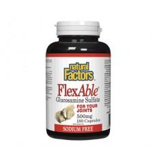 내츄럴팩토스 플렉서블 FlexAble (무염)글루코사민 500 mg ,500정